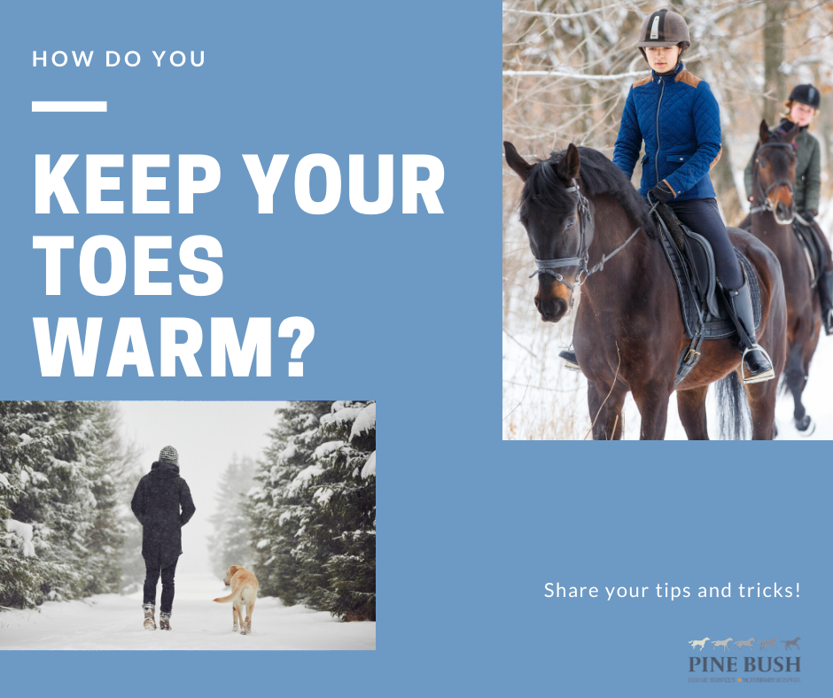 Keeping Toes Warm in Winter
